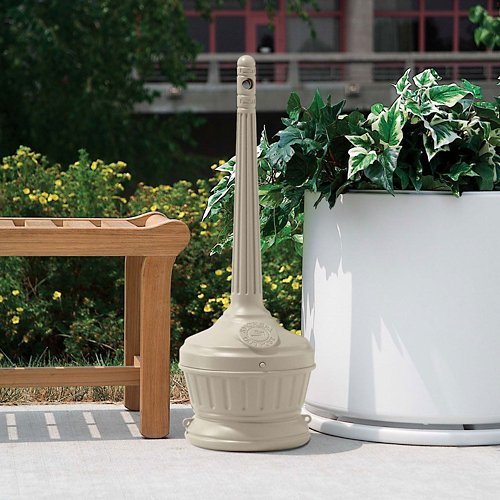 Urn Smokers (Patio Smokers' Outpost in Beige Cigarette Receptacle)