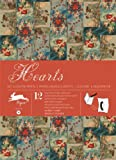 Hearts : Gift and creative paper book Vol 57 (Gift Wrapping Paper Book)