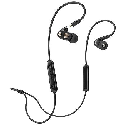 88cf30ef3ea Bluetooth Headphones, Noise Isolating Wireless Earphones, in-Ear Monitors  Earbuds with Microphones,