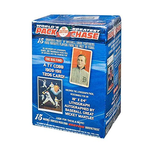 2017 Tristar Worlds Greatest Pack Chase Series 10 Baseball Greats Box (Blue) (Tristar Baseball)