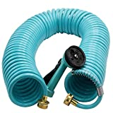 Coiled Garden Hose 50 Fts Review and Comparison