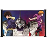 """Mobile Suit Gundam Unicorn Anime Fabric Wall Scroll Poster (26""""x16"""") Inches"""
