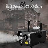 Sunolga Halloween Fog Machine,6 Stage LED Lights