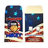 1000 Deluxe Medicated Mikey Shatter Wax Extract Full Color Coin Envelopes Style #027