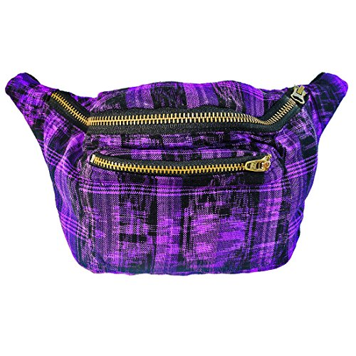 Native Tribal Fanny Pack, Boho Chic, Eco Woven & Handmade in Guatemala by Santa Playa (Tropical (Storm 90s Costume)