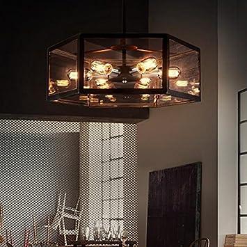 Wyz Innenbeleuchtung Industrie Stil Kronleuchter Wohnzimmer