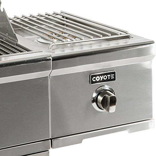 Coyote C-Series Single Side Burner for Grill Cart, Natural Gas – C1CSBNG