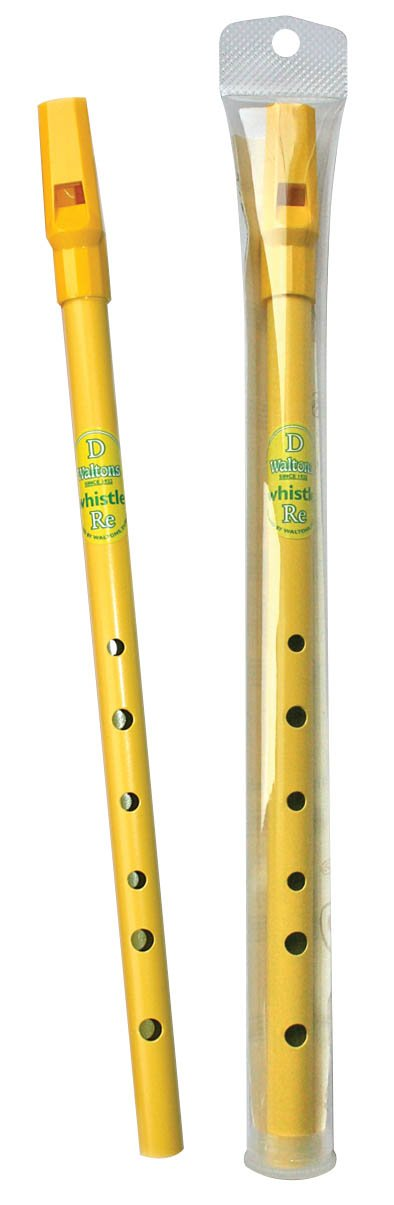 Walton WM1550P Rainbow Whistle, Yellow