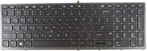 New Keyboard for HP Zbook 15 G3 17 G3 848311-031 848311-001 with Backlit Pointer US