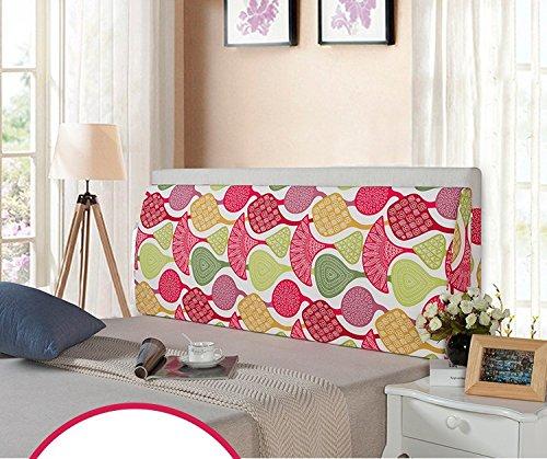 スポンジベッドヘッドボード背もたれクッションラージソフトクロスバッグロング三角枕クッション洗えるベッド ( 色 : A , サイズ さいず : L l ) B071DW1J7S L l|A A L l