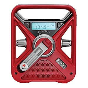 American Red Cross FRX3 Hand Crank NOAA AM/FM Weather Alert Radio with Smartphone Charger