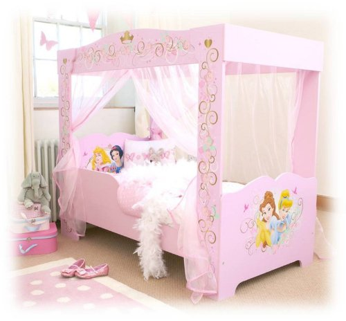 Himmelbett kinder 1,40  Worlds Apart 452DYP01 Disney Princess Kinder-Himmelbett: Amazon.de ...