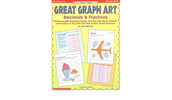 Amazon.com: Math Skills Made Fun: Great Graph Art Decimals ...