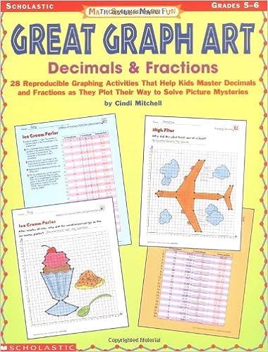 Amazon.com: Math Skills Made Fun: Great Graph Art Decimals ...