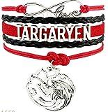 TARGARYEN Dragon Love Game of Thrones Charm Bracelet Gift Infiniti Jewelry