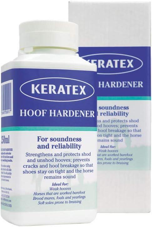 Keratex KHH 250 Hoof Hardener, 250ml : Horse Hoof Care : Pet Supplies