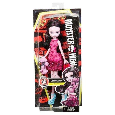 Monster High Pet (Monster High - Ghouls Beast Pet - DRACULAURA by Mattel)
