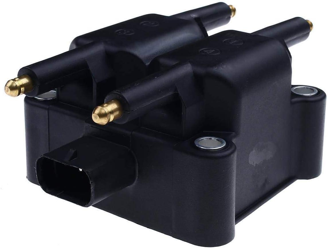 A-Premium Ignition Coil Compatible with Chryslr Cirrus Sebring Stratus Dodge Avenger Caravan Neon Stratus Ford Mitsubishi Plymouth L4 1.3L 2.0L
