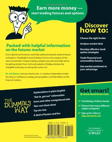 Futures & Options For Dummies by For Dummies