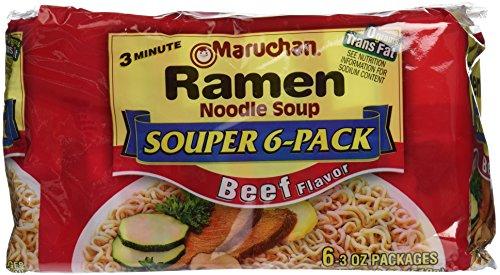 Maruchan Ramen Noodles, Beef, 18 Oz