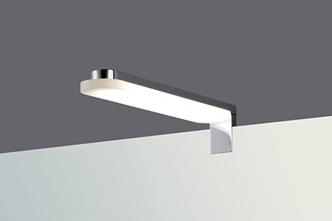 Lampada led clip on lampada specchio bagno luce bianca calda a
