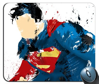 Superman Abstract Art Mouse Pad