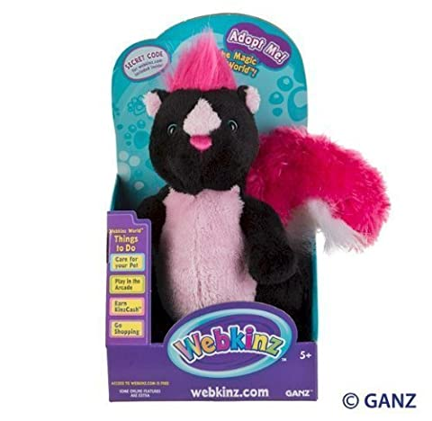 Webkinz Sassy Skunk in Box by Ganz [parallel import goods] (Sassy Skunk)