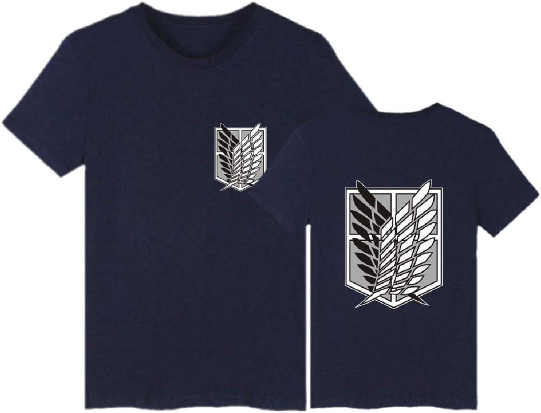 Attack ON Titan Camisa Hombre Fitness Camisetas T Shirt Moda Manga ...