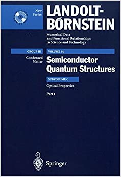 Optical Properties 1: Optical Properties Vol 34 Subvolume C (Landolt-Börnstein: Numerical Data and Functional Relationships in Science and Technology - New Series)