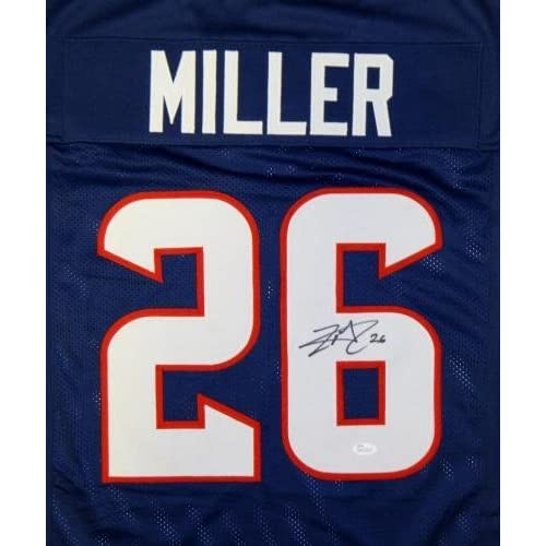 lamar miller autographed jersey