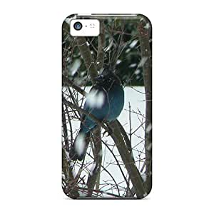 For Blue Jay On A Snowy Day Protective Case Cover Skin/iphone 5c Case Cover