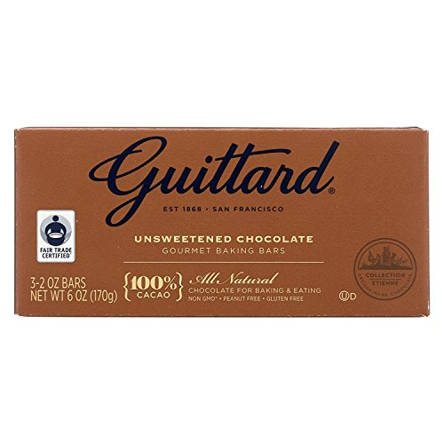 Guittard Chocolate 100% Unsweetened 6 Oz (Pack Of ()