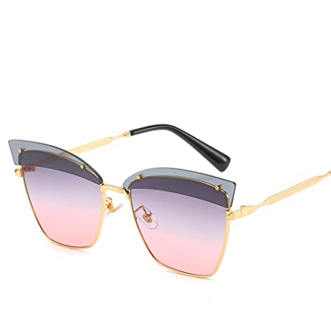 Yangjing-hl Cat Eye Sunglasses Marea Cejas Gafas ...