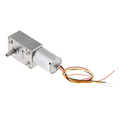 Sharplace Motor con Engranaje Helicoidal Turbo de Alto Torque Herraientas Multiusos - 6RPM