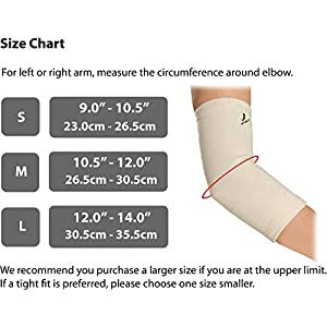 UPTOFIT Copper Elbow Sleeve Arm Compression Latex-Free Lightweight for Tennis,Weightlifting,Basketball,Golf,Joint Pain Relief,Arthritis,Arm and Elbow Support for Men and Women
