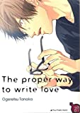 The proper way to write love
