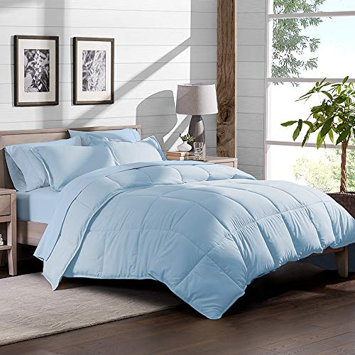 light blue bedding twin - 8