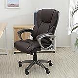 Alek...Shop New Chair Executive Pu Leather Office Seat Desk Adjust High-Low Style Task Ergonomic Computer Desk