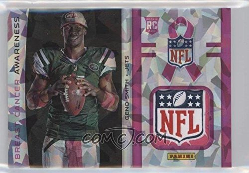 2013 Panini Black Friday Breast Cancer Awareness NFL Shield Geno Smith RARE by panini black