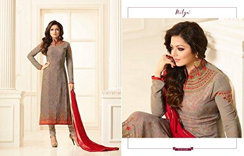 Indiano etnico misura salwar abito pakistano 892 lungo designer tradizionale Madhubala culturale costume su vestito wF8S0nwqvH