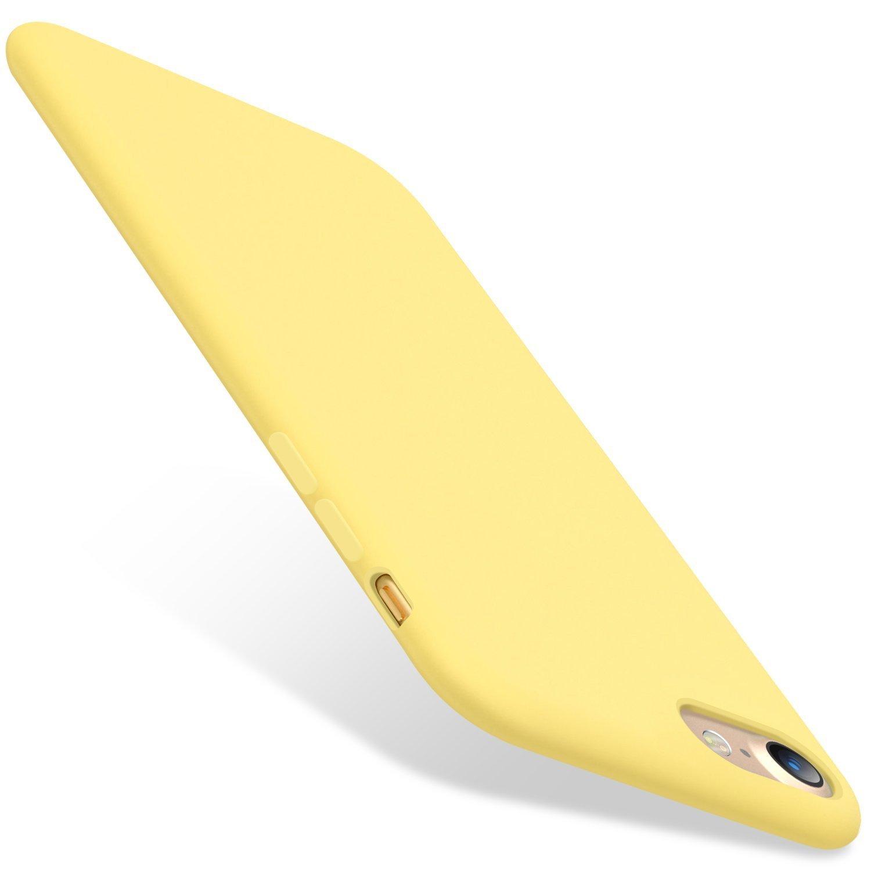 Teryei Funda Compatible con iPhone 6 iPhone 6S, Silicona Suave Case Full protecció n Anti-Golpes Rasguñ o y Resistente [Ultra Slim ] Anti-Está tico Choque Bumper TES-XJ4279