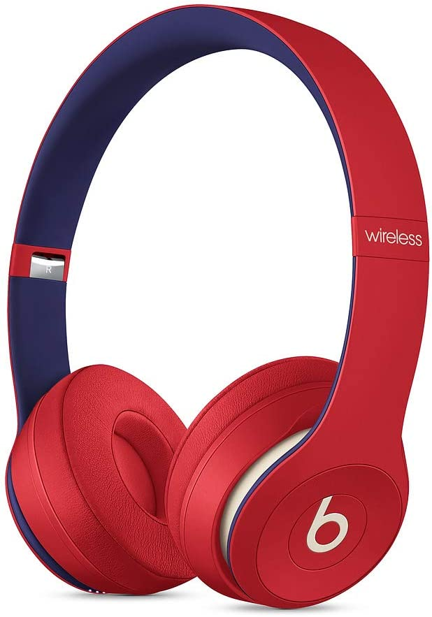 Beats Auriculares Abiertos Beats Solo3 Wireless – Beats Club Collection, Rojo Club