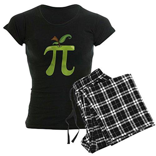 CafePress Apple PI - Womens Novelty Cotton Pajama Set, Comfortable PJ Sleepwear (Bottoms Apple Womens)