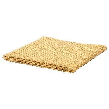 IKEA 503.555.50 Vagsjon - Toalla de baño (28 x 55 cm), color amarillo claro: Amazon.es: Hogar