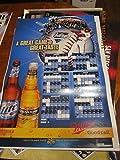 2006 San Diego Padres Schedule poster Miller Lite bx-sd
