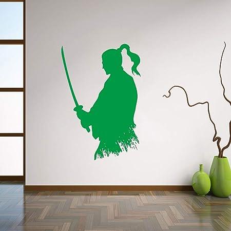 Zaosan Decoración de Pared Ninja Vinilo AdhesivoEstilo ...
