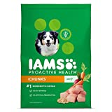 Iams Proactive Health Chunks Dry Dog Food For All Dogs – Chicken, 29.1 Pound Bag