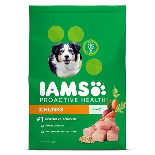 IAMS Proactive Health Dry Dog Food, Chunks, 15 lbs. (Standard Packaging)
