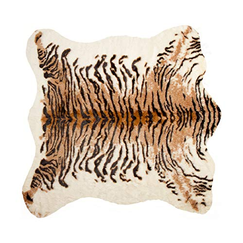 Luxe Faux Cowhide Rug/Throw 4 1/4