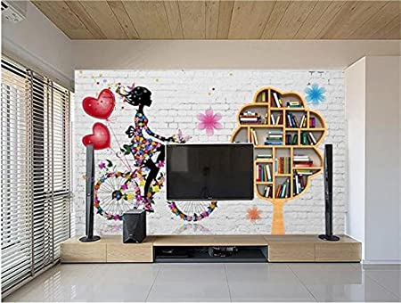 Yosot 3d Room Wallpaper Custom Photo Non Woven Mural Brick Wall
